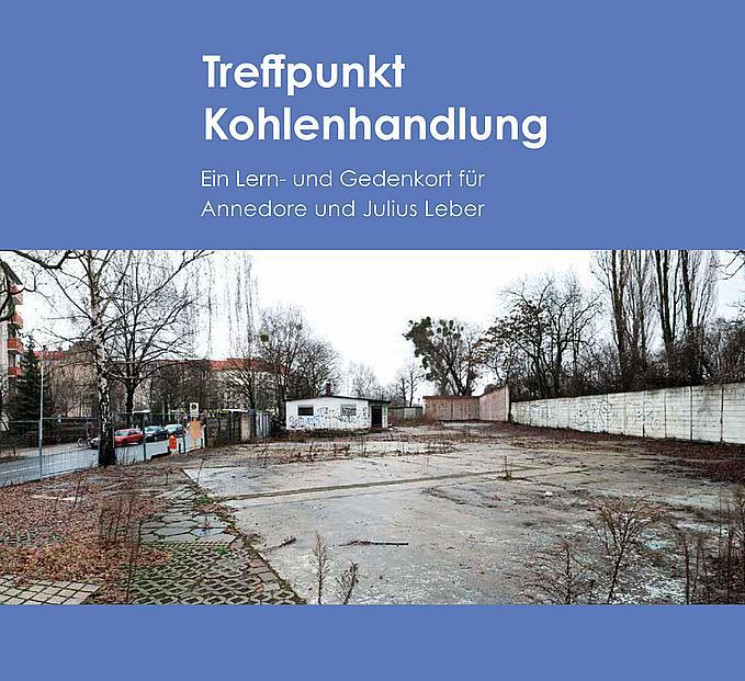 Titelseite des Buches mit Foto der Kohlenhandlung